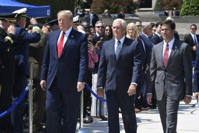 Trump welcomes Defense Secretary Mark Esper