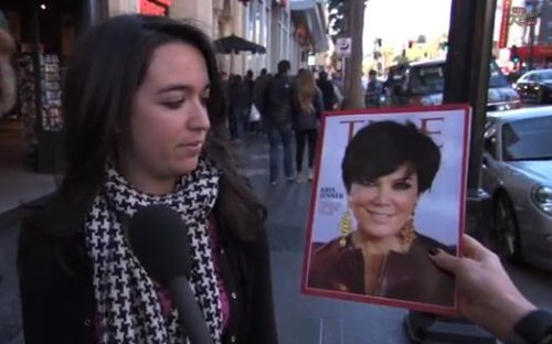 Kris Jenner named 'Time's Person Of The Year' by Jimmy Kimmel