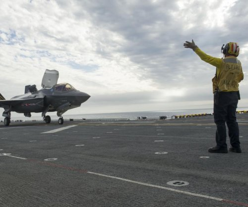 F-35B jets undergo testing on U.S. Navy amphibious assault ship