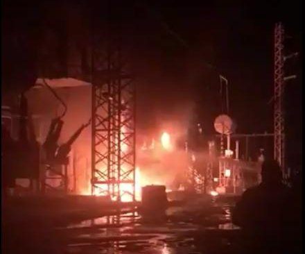 Explosion plunges Puerto Rico back into darkness