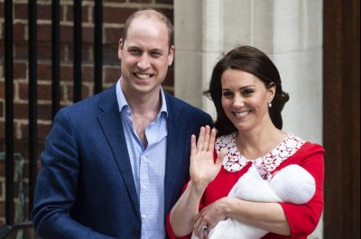 Prince William, Kate Middleton name son Louis Arthur Charles
