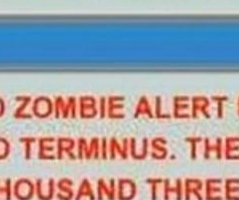 Florida city apologizes for alert warning of zombies