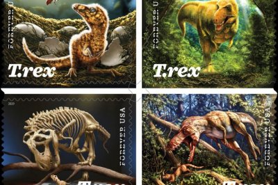 T. Rex Forever stamps to be issued Aug. 29