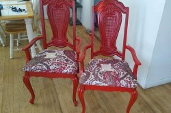Chairs taken from outside couple's home returned refurbished
