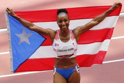 Puerto Rico's Jasmine Camacho-Quinn wins gold in 100-m hurdles