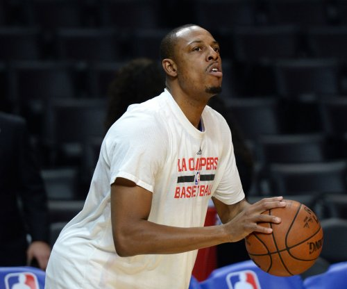 Paul Pierce might miss week with sprained ankle, bruised knee