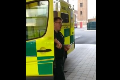 'Pavarotti paramedic' stuns social media with impromptu opera performance