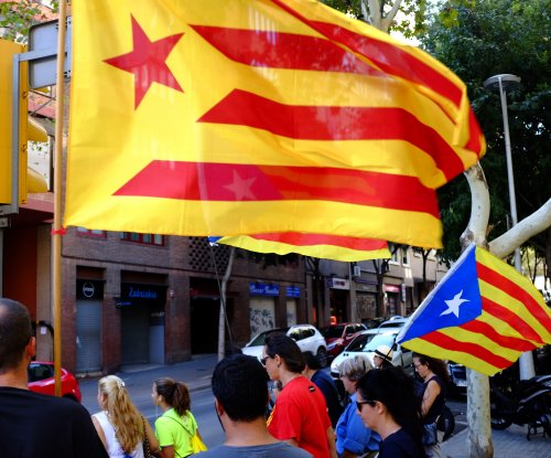 Voters occupying polling stations ahead of Catalonia referendum