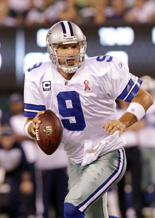 Cowboys QB Romo has collapsed lung