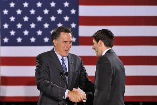 Ryan: No talk with Romney about VP