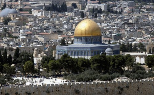 Iran funds al-Aqsa mosque model