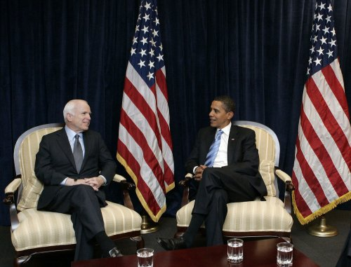 Obama meets with McCain in Chicago
