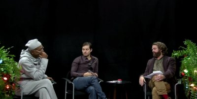 Zack Galifianakis debuts 'Between Two Ferns: Happy Holidays Edition'