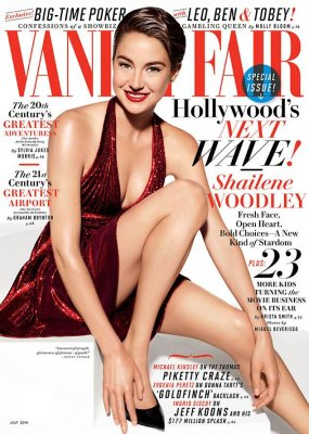 Shailene Woodley talks George Clooney, Miles Teller in Vanity Fair interview