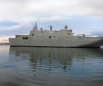Sea trials for new Australian Navy ship