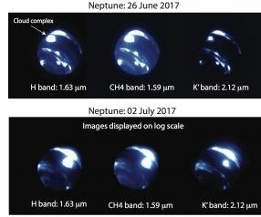 Scientists find large, new storm on Neptune