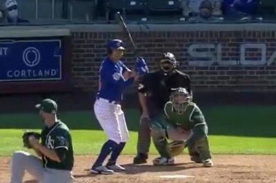Rafael Ortega smacks walk-off grand slam, Cubs beat A's in spring training