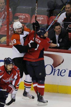 NHL: Philadelphia 2, N.Y. Islanders 1