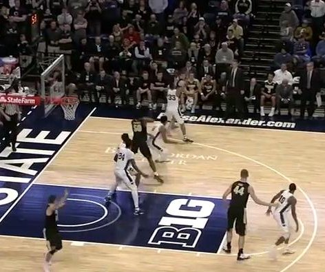 Ryan Cline lifts No. 14 Purdue over Penn State in OT