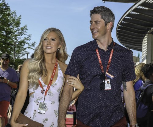 Arie Luyendyk Jr., Lauren Burnham cozy up in engagement photos