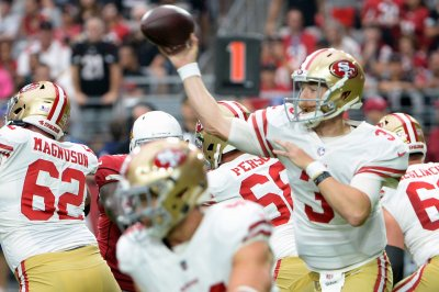 Niners could start third-string QB vs. Raiders