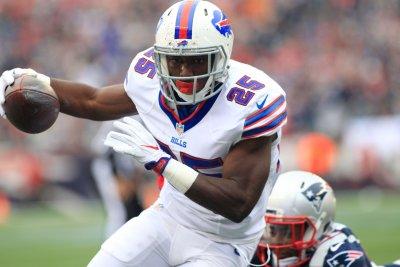 Buffalo Bills' LeSean McCoy (thumb) could be back next week