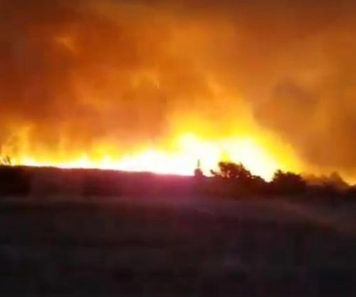 Cluster of wildfires burning in Oklahoma -- but no tornadoes in sight