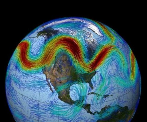 Jet stream 'traffic jams' can trigger strange weather patterns