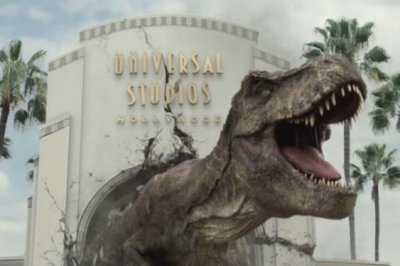 Universal Studios Hollywood teases new 'Jurassic World' ride