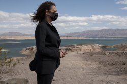Kamala Harris touts climate aspects of Build Back Better plan at Lake Mead