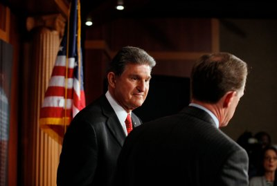 Manchin says he's not afraid of NRA