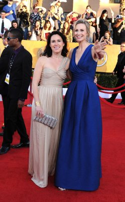 Jane Lynch and wife Lara Embry divorcing