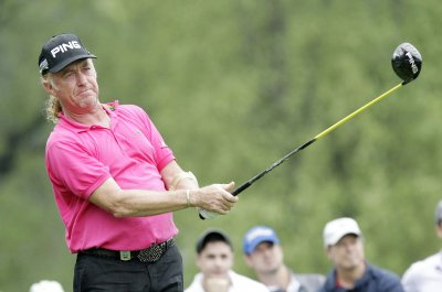 Miguel Angel Jimenez leads KLM Open