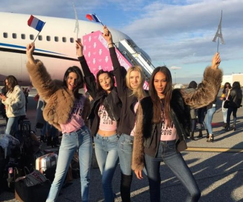 Kendall Jenner, Bella Hadid head to Paris for Victoria's Secret show