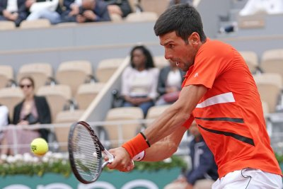 Novak Djokovic reaches 10th consecutive French Open quarterfinals