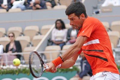 Novak Djokovic reaches 10th consecutive French Open quarterfinals
