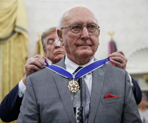 Former NBA player Bob Cousy receives Presidential Medal of Freedom