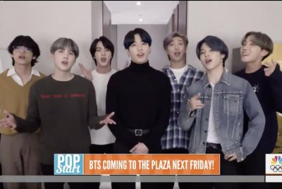 BTS to appear Feb. 21 on 'Today'