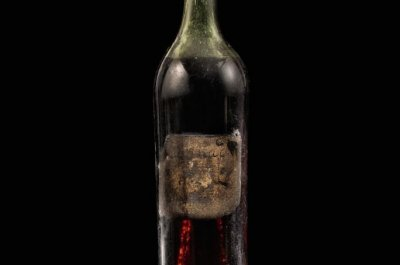 Bottle of cognac from 1762 sells for $146,000