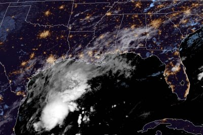 Tropical Depression 22 forms in the Gulf of Mexico