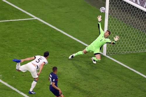 Germany scores upper-90 own goal in loss to France