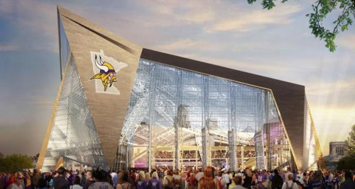 Plans for new Minnesota Vikings stadium a bird deathtrap, environmentalists say