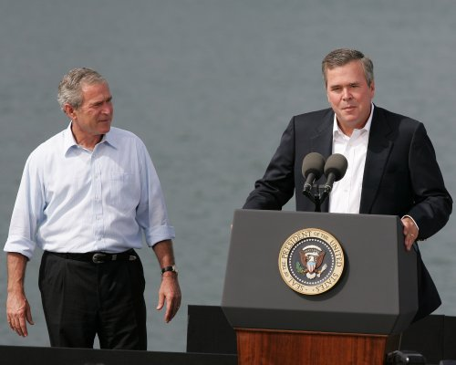 George W. Bush says there's 50-50 chance Jeb runs for president