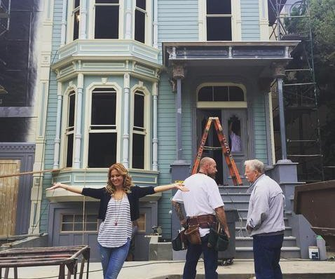 Candace Cameron Bure shares photo of 'Fuller House' home