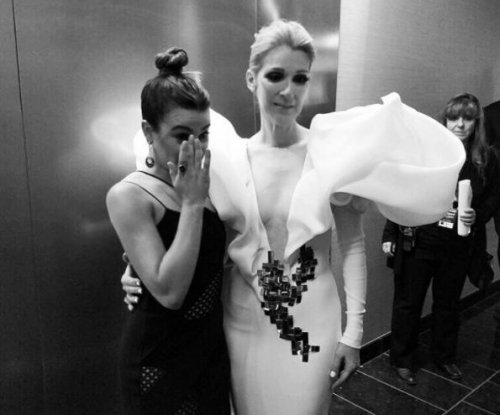 Lea Michele cries after meeting Celine Dion at the BBMAs