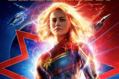 Brie Larson stands ready as 'Captain Marvel' in new poster