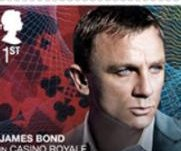 Royal Mail pays tribute to James Bond with new stamp collection
