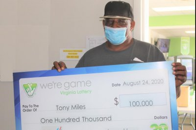 Virginia man buys 20 lottery tickets, wins 20 times