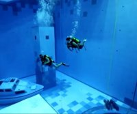World's deepest swimming pool opens in Poland