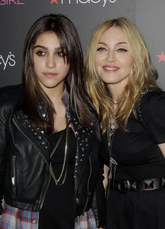 Madonna not happy Lourdes, 15, smokes